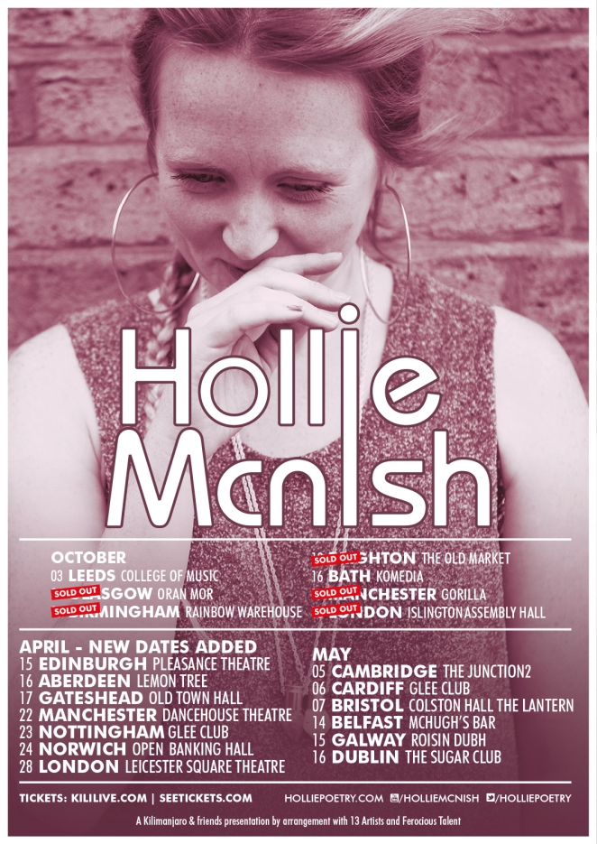HollieMcNish_2015Tour