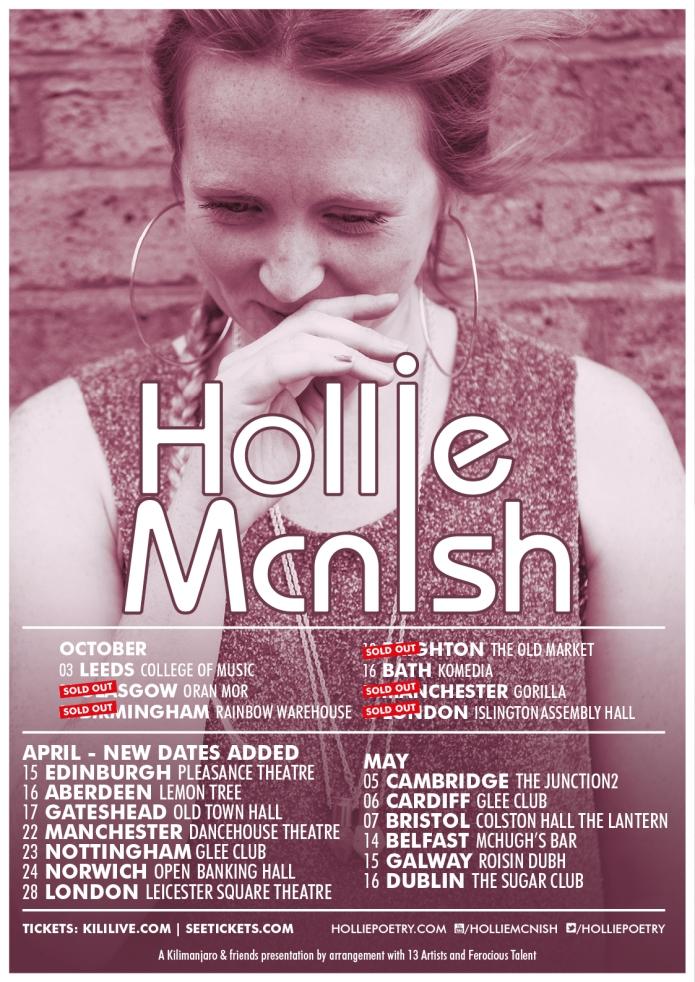 HollieMcNish_2015Tour