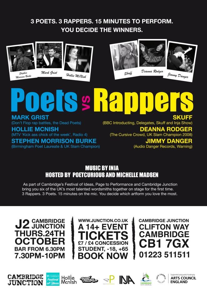 Poets versus Rappers