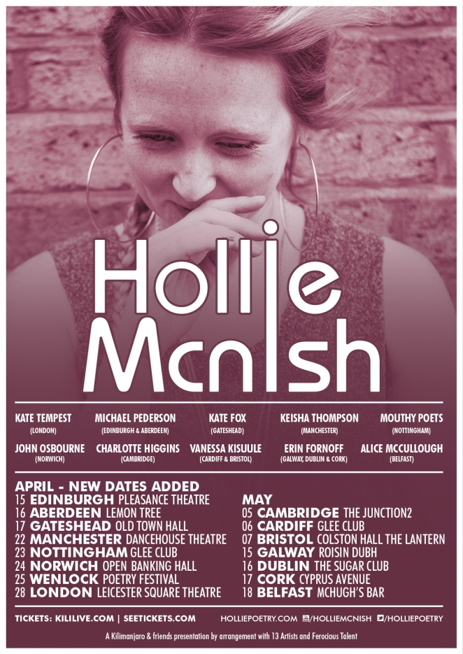HollieMcNish_Tour